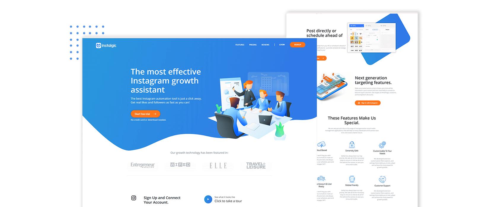 Instalgic Website