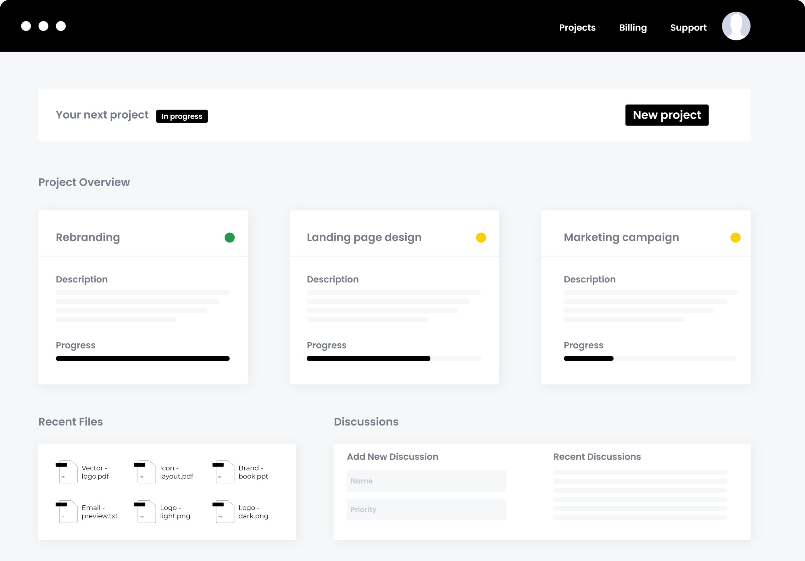 Client Dashboard scaled